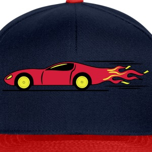 Race Car Racing racing raza Camisetas - Gorra Snapback