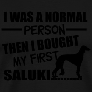 Normal Person - Saluki Manches longues - T-shirt Premium Homme