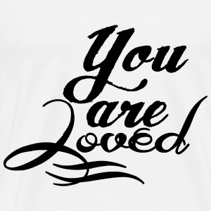 You are loved Baby Langarmshirts - Männer Premium T-Shirt