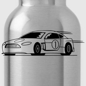 Race car run fast T-Shirts - Water Bottle