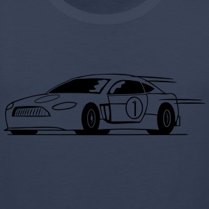 Race car run fast T-Shirts - Men's Premium Tank Top