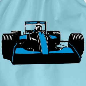Race Car Racing sval T-shirts - Gymnastikpåse