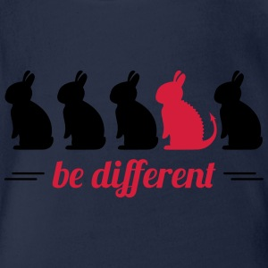 be different lapins Hare Easter bunny bunny Sweats - Body bébé bio manches courtes