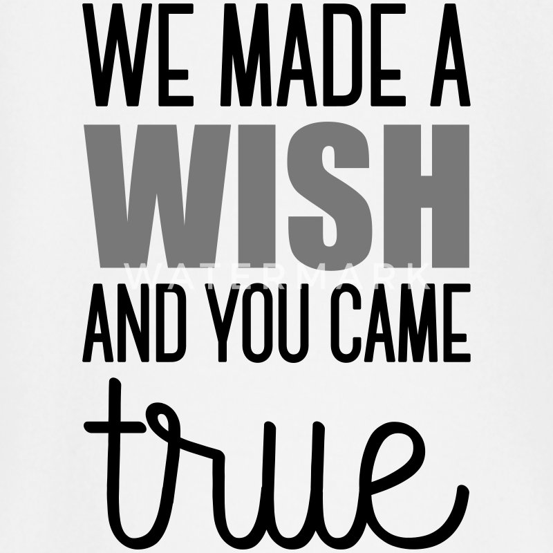 Babydesign: We made a wish and you came true Baby Langarmshirts - Baby Langarmshirt