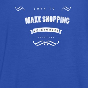 Born to make shopping T-shirts - Tanktopp dam från Bella