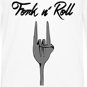 Fork n' Roll - T-shirt manches longues Premium Homme