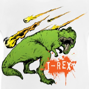 Animal Planet børne T-shirt Tyrannosaurus rex - Baby T-shirt