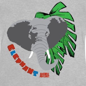 Animal Planet T-shirt barn elefant - Baby-T-shirt