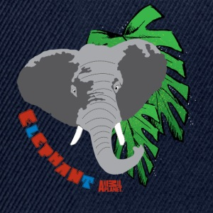 Animal Planet børne T-shirt langærmet elefant - Snapback Cap