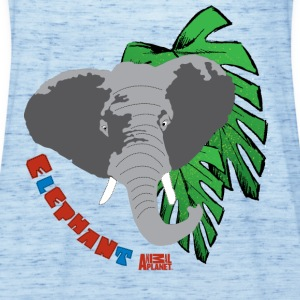 Animal Planet Kinder T-Shirt Elefant - Frauen Tank Top von Bella