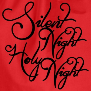 Silent night holy night Shirts - Drawstring Bag