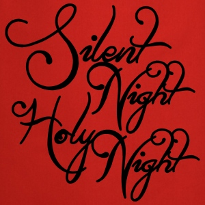 Silent night holy night Shirts - Keukenschort
