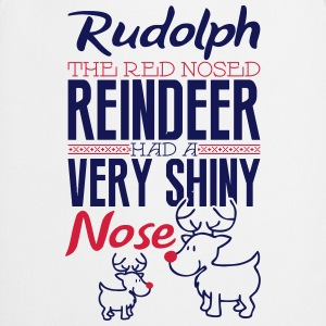 Rudolph the red nosed reindeer Shirts met lange mouwen - Keukenschort