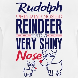 Rudolph the red nosed reindeer Långärmade T-shirts - Baby-T-shirt