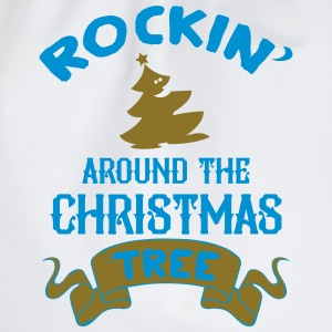Rockin around the christmas tree Tank Tops - Drawstring Bag