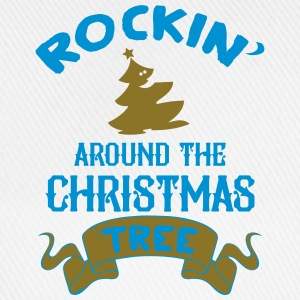 Rockin around the christmas tree baby shirts met lange mouwen - Baseballcap