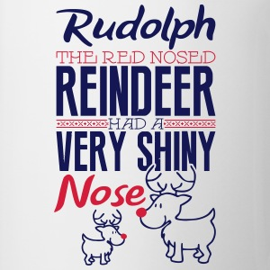 Rudolph the red nosed reindeer Långärmade T-shirts - Mugg
