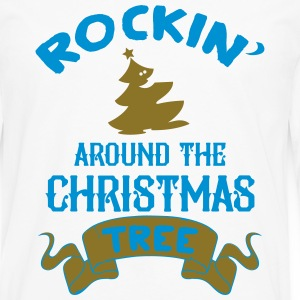 Rockin around the christmas tree T-skjorter - Premium langermet T-skjorte for menn