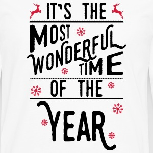It's the most wonderful time of the year T-shirts - Mannen Premium shirt met lange mouwen