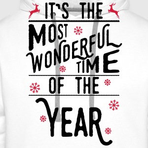 It's the most wonderful time of the year Long sleeve shirts - Men's Premium Hoodie