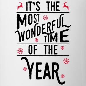 It's the most wonderful time of the year Long sleeve shirts - Mug