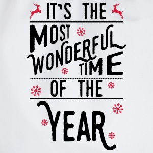 It's the most wonderful time of the year Shirts - Drawstring Bag