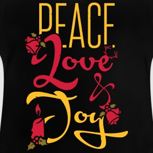 Peace, Love T-shirts - Baby-T-shirt