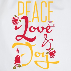 Peace, Love T-Shirts - Drawstring Bag
