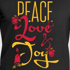 Peace, Love T-Shirts - Men's Sweatshirt by Stanley & Stella