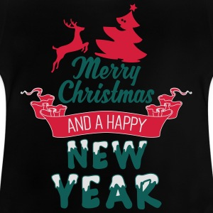 Merry Christmas and a Happy new Year Shirts - Baby T-Shirt