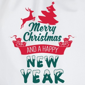 Merry Christmas and a Happy new Year Shirts - Drawstring Bag