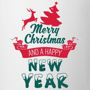 Merry Christmas and a Happy new Year T-shirts - Mugg