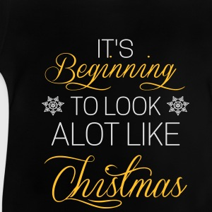 It's beginning to look alot like chistmas Manches longues - T-shirt Bébé