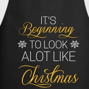 It's beginning to look alot like chistmas Shirts met lange mouwen - Keukenschort