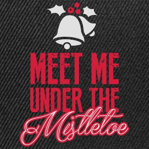Meet Me Under the Mistletoe Shirts met lange mouwen - Snapback cap