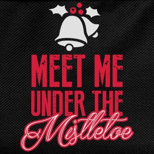 Meet Me Under the Mistletoe T-Shirts - Kids' Backpack