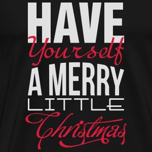 Have yourself a merry little christmas Långärmade T-shirts - Premium-T-shirt herr