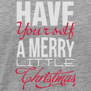 Have yourself a merry little christmas Tanktops - Mannen Premium T-shirt