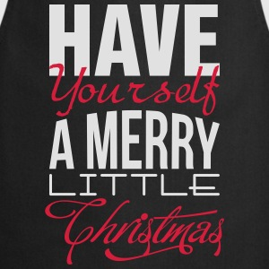 Have yourself a merry little christmas T-shirts - Keukenschort