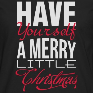 Have yourself a merry little christmas T-shirts - Mannen Premium shirt met lange mouwen