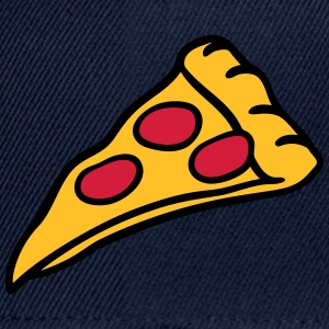 pizza salami cheese design T-Shirts - Snapback Cap