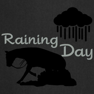 Raining - Reining Day Umbrellas - Cooking Apron
