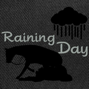 Raining - Reining Day Umbrellas - Snapback Cap