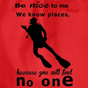 Be nice to me... T-Shirts - Turnbeutel