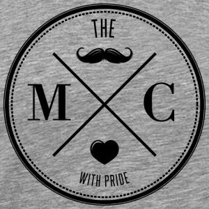 The Movember Moustache Club with pride DD Shirts met lange mouwen - Mannen Premium T-shirt