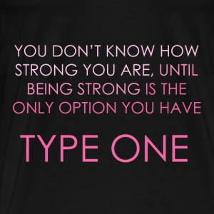 You Don't Know How Strong You Are - Pink Hoodies & Sweatshirts - Men's Premium T-Shirt