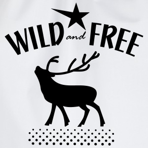 wild and free Shirts - Drawstring Bag