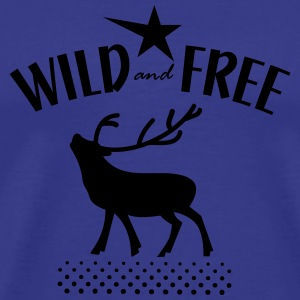 wild and free Hoodies - Men's Premium T-Shirt