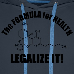 The Formular for Health T-shirts - Premiumluvtröja herr