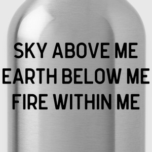 Sky Above Me T-Shirts - Water Bottle